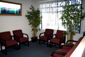 San Jose Dentist Waiting Area