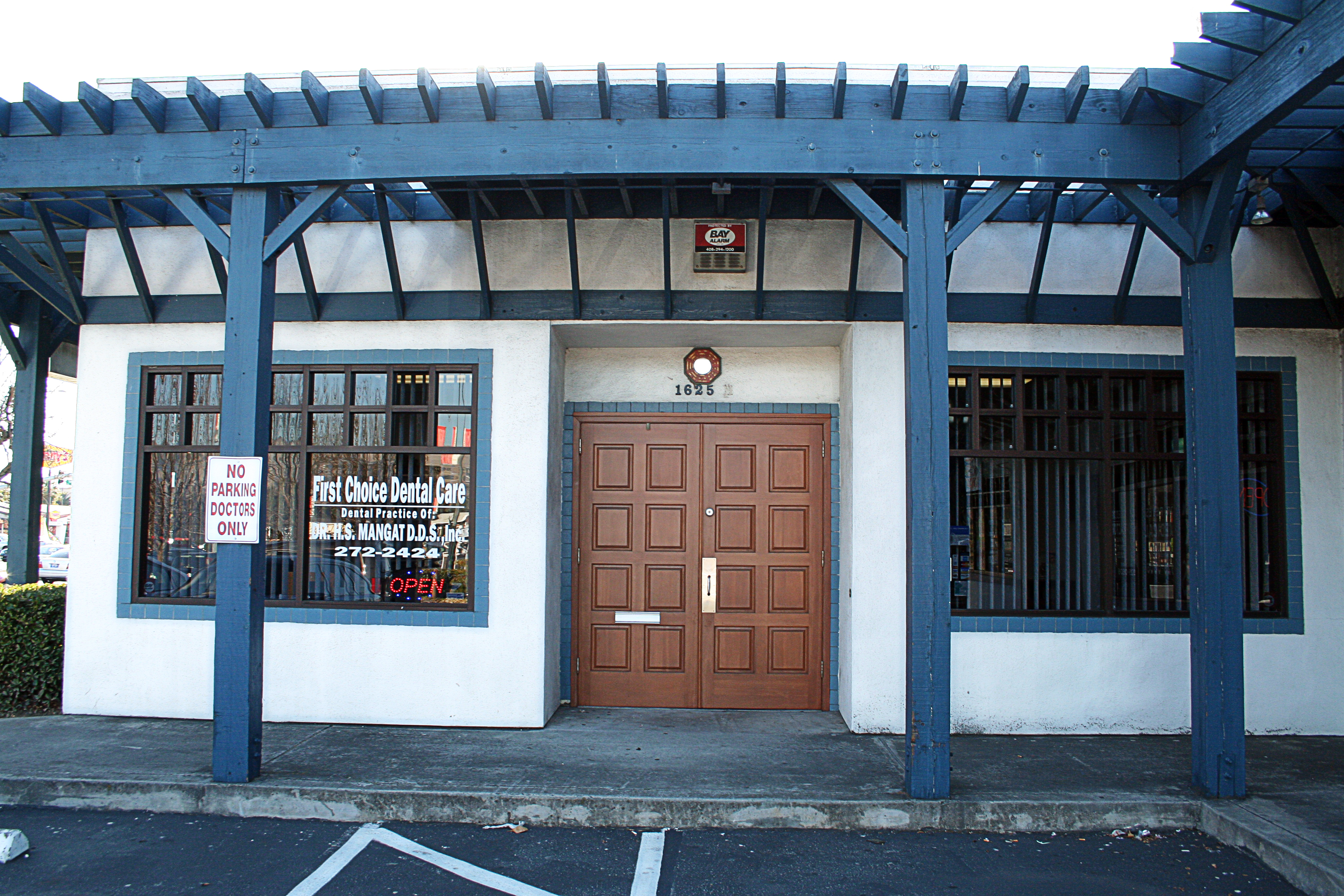 San Jose Dentist Front Exterior